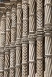 Façade de musée national d'histoire, Londres Photo stock