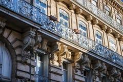 Façade de Toulouse Images stock