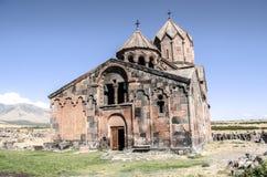 Façade le monastère reconstitué l'Ohanavank du 5ème siècle Photo stock
