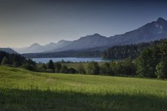 Faaker vê Áustria Imagem de Stock