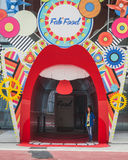 Fab Food pavilion at Expo 2015 in Milan, Italy Royalty Free Stock Photography