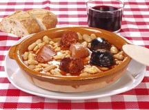 Fabada Asturiana Stock Photography