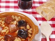 Fabada Asturiana Photo stock