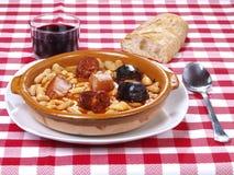 Fabada Asturiana Images libres de droits