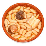 Fabada Asturiana Stock Photo