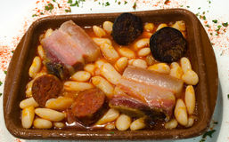 Fabada Asturiana Foto de Stock