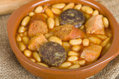 Fabada Asturiana Photo stock