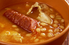 Fabada asturiana, Royalty Free Stock Photos