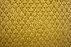 Fabbric gold color Royalty Free Stock Photos
