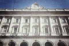 Fabbrica中央寺院米兰意大利 库存图片