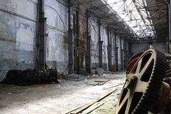 Fabbrica abbandonata Immagini Stock