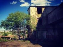 Fabbrica abbandonata Fotografia Stock Libera da Diritti