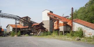 Fabbrica abbandonata Fotografia Stock