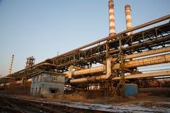 Fabbrica abbandonata del ferro Immagine Stock