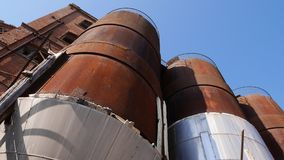 Fabbrica abbandonata - fabbrica di birra Fotografie Stock