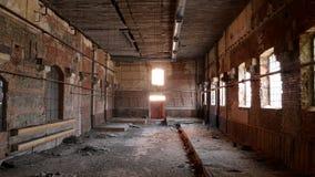 Fabbrica abbandonata - fabbrica di birra Fotografia Stock