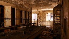 Fabbrica abbandonata - fabbrica di birra Immagini Stock Libere da Diritti
