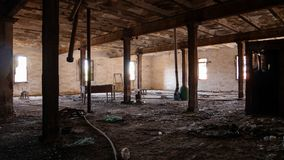 Fabbrica abbandonata - fabbrica di birra Immagine Stock Libera da Diritti