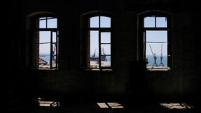 Fabbrica abbandonata - fabbrica di birra Fotografia Stock Libera da Diritti