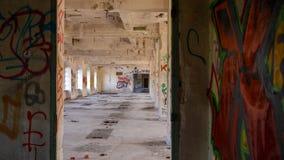 Fabbrica abbandonata - mulino Immagine Stock Libera da Diritti
