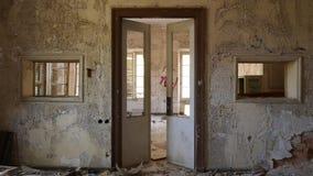 Fabbrica abbandonata - mulino Immagini Stock