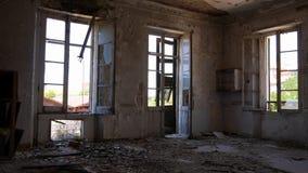 Fabbrica abbandonata - mulino Immagine Stock