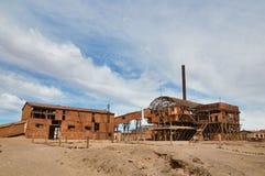 Fabbrica abbandonata, Santa Laura, Cile Fotografie Stock Libere da Diritti