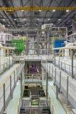 Fabbrica chimica producendo gomma sintetica fotografie stock