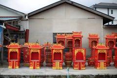 Fabbrica cinese della casa dell'altare Fotografie Stock
