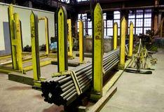 Fabbrica dei tubi Fotografie Stock
