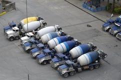 Fabbrica del camion della betoniera Fotografie Stock