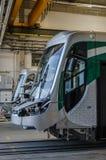 Fabbrica del tram Fotografie Stock