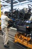 Fabbrica del trattore Fotografie Stock Libere da Diritti
