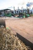 Fabbrica dell'etanolo Fotografie Stock
