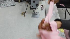 Fabbrica dell'indumento e del tessuto archivi video