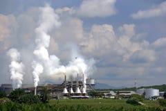 Fabbrica dell'olio di palma immagini stock