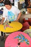 Fabbrica dell'ombrello Fotografia Stock