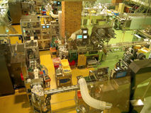 fabbrica della confetteria fotografie stock