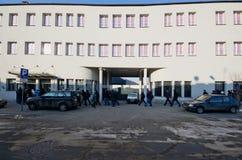 Fabbrica della lista di Schindlers a Cracovia Fotografia Stock Libera da Diritti