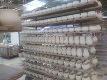 Fabbrica della porcellana Immagine Stock Libera da Diritti