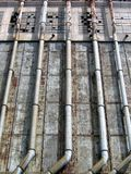 Fabbrica del vecchio porto Fotografie Stock Libere da Diritti