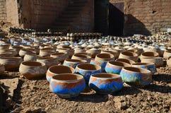 Fabbrica delle terraglie Fotografie Stock Libere da Diritti
