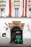 Fabbrica di birra antica in vecchia città Varsavia Fotografia Stock Libera da Diritti