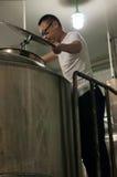 Fabbrica di birra cinese della birra del mestiere Fotografia Stock Libera da Diritti