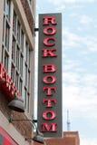 Fabbrica di birra del fondo e Resturant, Nashville del centro Tennessee immagini stock libere da diritti