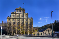 Fabbrica di birra della cascata, Hobart, Tasmania immagini stock
