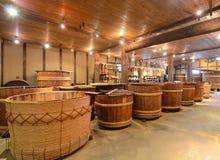 Fabbrica di birra di causa Fotografie Stock