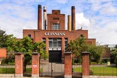 Fabbrica di birra di Guinness immagini stock libere da diritti