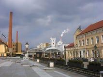 Fabbrica di birra nella Repubblica ceca Immagine Stock Libera da Diritti