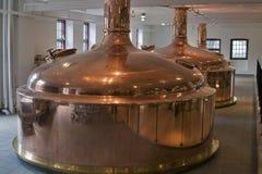 Fabbrica di birra retro Immagini Stock